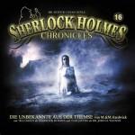 Cover für die neue Sherlock Holmes Chronicles Folge -Die Unbekannte aus der Themse- von M. & M. Hardwick.