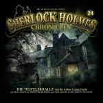 Cover zu Arthur C. Doyles Klassiker - 24 Die Teufelskralle - aus der Hörspiel-Reihe Sherlock Holmes Chronicles - Folge 24