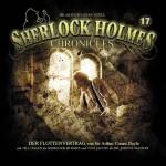 Cover zu Doyle's Klassiker -Der Flottenvertrag- aus der Hörspiel-Reihe Sherlock Holmes Chronicles, ab 3.4. erhältlich.