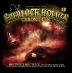 Cover zu Doyle's Klassiker -Der zweite Fleck- für die Hörspielreihe Sherlock Holmes Chronicles