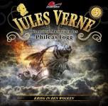 Coveransicht zu Folge 3 der neuen JULES VERNE Hörspielreihe von Maritim -Krieg in den Wolken-