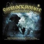 Coveransicht zu Folge 9 der ausgezeichneten Hörspielreihe -Sherlock Holmes Chronicles-