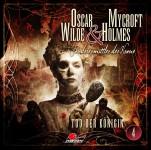Coverartwork zu TOD DER KÖNIGIN – Folge # 4 der neuen Maritim Hörspielreihe -Oscar Wilde + Mycroft Holmes-