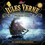 Covergestaltung für Hörspiel Jules Verne - Die neuen Abenteuer des Phileas Fogg- Folge 5 - Das Geheimnis der Eissphinx- (Maritim). Erscheint am 12. August 2016.