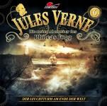 Covergestaltung für Hörspiel Jules Verne - Die neuen Abenteuer des Phileas Fogg- Folge 6 - Der Leuchtturm am Ende der Welt - (Maritim). Erscheint am 7. Oktober 2016.
