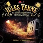 Covergestaltung für Hörspiel Jules Verne - Die neuen Abenteuer des Phileas Fogg - Folge 7 - Die Stadt Unter der Erde- (Maritim). Erscheint am 25. November 2016.