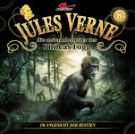 Covergestaltung für Hörspiel Jules Verne - Die neuen Abenteuer des Phileas Fogg, Folge 8 -Im Angesicht der Bestien- (Maritim). Erscheint am 20. Januar 2017.