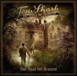 Covergestaltung für die Hörspielreihe Tom Shark, # 6 -Das Haus des Grauens-