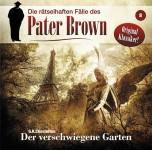 Covergestaltung für die neue Pater Brown Hörspielreihe, -Der verschwiegene Garten-