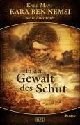 Covergestaltung zu - In der Gewalt des Schut – Band 4 der Kara Ben Nemsi Reihe vom BLITZ Verlag