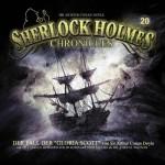Coverillustration zu Doyle's Klassiker -Der Fall Gloria Scott- für die Hörspielreihe Sherlock Holmes Chronicles