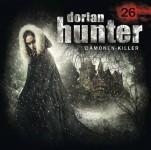 Covervorschau auf das nächste Dorian Hunter Hörspiel -Die Schöne und die Bestie-