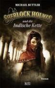 Das neue Taschenbuch-Cover der Sherlock Holmes Reihe bei BLITZ von M. Buttler, -Die Indische Kette-.