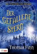 Der gefallene Stern - Buchcover zum ersten Band der phantastischen Jugendreihe -Die Wächter von Astria- von Thomas Finn.