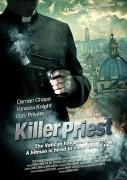 Filmposter für Damian Chapa's Action Thriller -Killer Priest- (USA 2011)