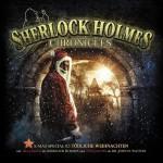 Gleich nochmal was Winterliches, Das Cover zu Sherlock Holmes Chronicles -Tödliche Weihnachten-. Das X-Mas Special 2 ist ab 14.11.2014 erhältlich
