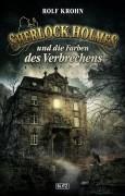 Neues Sherlock Holmes Cover für den BLITZ Verlag. -Die Farben des Verbrechens-. Vier Novellen von Rolf Krohn.