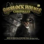 -Sein schwierigster Fall- – 26 Coverartwork zu Sherlock Holmes Chronicles # 26. Ab 22. Januar 2016 erhältlich.