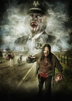 Postergestaltung (Teaser) für geplanten Zombiefilm der Produktionsfirma Schelotivity